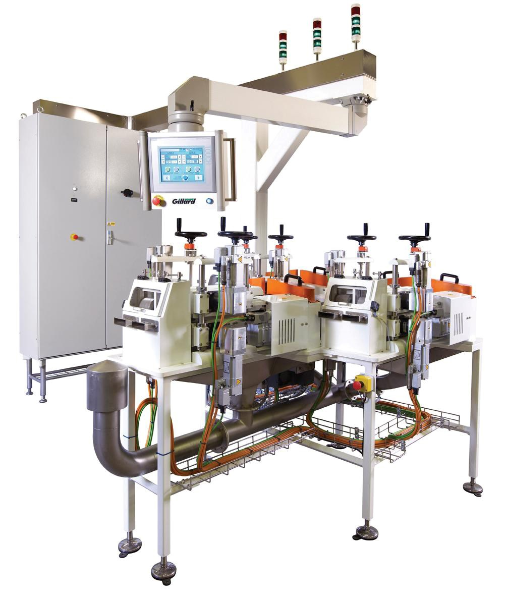 Servo-Torq_Multi-lane_food_extrusion_cutting